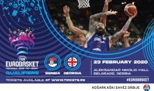 Kvalifikacije za EP 2021 Srbija - Gruzija